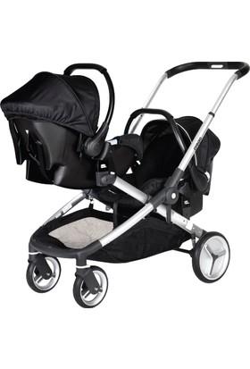 Prego 2072 İbiza Bebek Taşıma Ana Kucağı + Seyahat Sistem Bebek Arabası