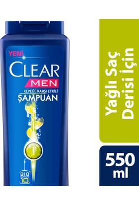 Clear Şampuan Yağlı Saç Derisi İçin Maksımum 550 ml