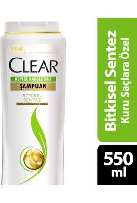 Clear Şampuan Bitkisel Sentez Kuru Saçlara Özel 650 ml