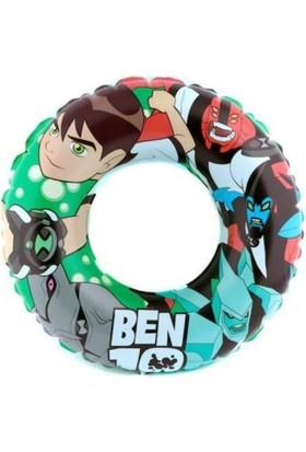 Cn Cartoon Network BEN 10 Swim Ring - Benten Şişme Deniz Havuz Simidi