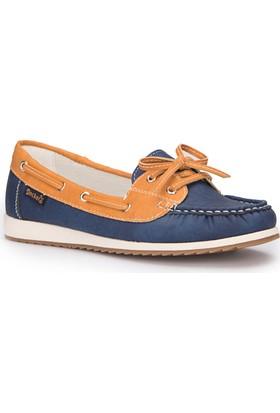 Dockers By Gerli 216607 Lacivert Kadın Marin Ayakkabı