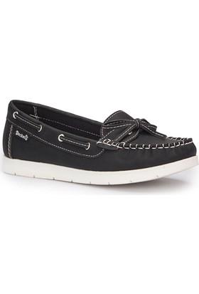 Dockers By Gerli 220725 Siyah Kadın Loafer Ayakkabı