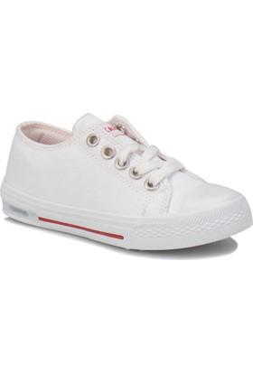 Kinetix Denni Beyaz Kız Çocuk Sneaker Ayakkabı