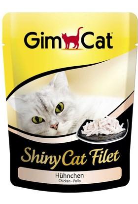 Gimcat Shinycat Pouch Tavuklu Kedi Maması 70Gr