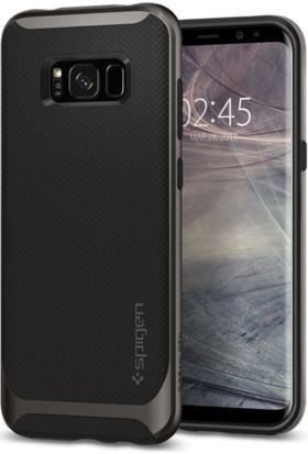 Spigen Samsung Galaxy S8 Plus Kılıf Neo Hybrid Gunmetal - 571CS21646