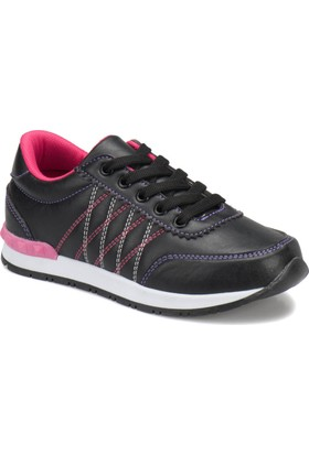 Seventeen Pinky Siyah Kız Çocuk Ayakkabı