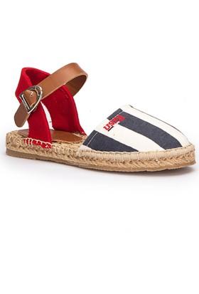 U.S. Polo Assn. Leones Lacivert Kız Çocuk Espadril Ayakkabı