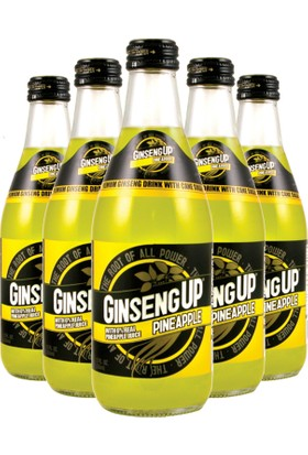 Ginseng UP Ananaslı Ginseng Suyu İçeceği 24x355ML