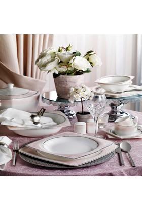 Pierre Cardin 86 Parça Yemek Takımı Tessa Pink
