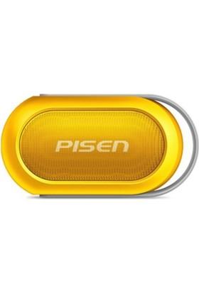 Pisen B002 Bluetooth Speaker Mikrofonlu Suya Dayanıklı Hoparlör Taşınabilir Şık Tasarım