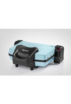 Altus Al 758 Y 4 Isı Kademeli 1800W Mavi Izgara Tost Makinesi