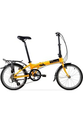 Dahon Mariner D8 Orange Turuncu Katlanır Bisiklet