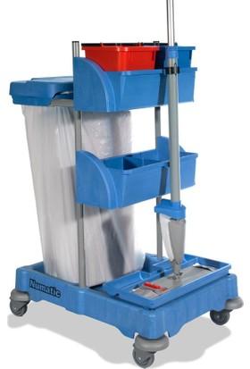 Numatic XC0 Çöp Toplamalı Mop Matic Kat Temizlik Arabası