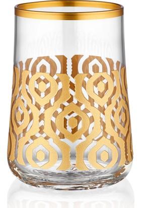 Koleksiyon Aheste Kahve Bardak Seti 6Lı Marakesh Altın Premıum