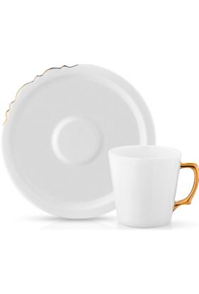 Koleksiyon Eserı ISetianbul Çay Fincan Seti 6Lı Altın
