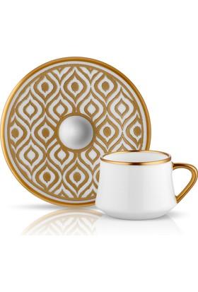 Koleksiyon Sufı Türk Kahvesi St 6Lı Ikat Altın