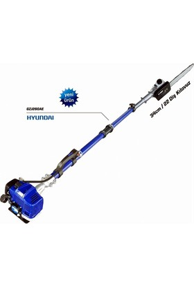 Hyundai Teleskopik Yüksek Dal Budama Testeresi