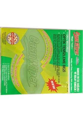 Easy Wiper Ultra Microfiber Optik Temizleme Bezi Antibakteriyel,Deterjansız