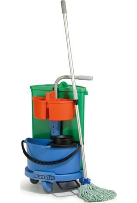 Numatic Nc1 Çp Toplamalı Mop Setli Temizlik Arabası