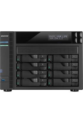 Asustor 8 Slot Nas I-1.6Ghz Quad 4Gb 4Xgbeth 2Xesata 3Xusb3 25Nvr 4K