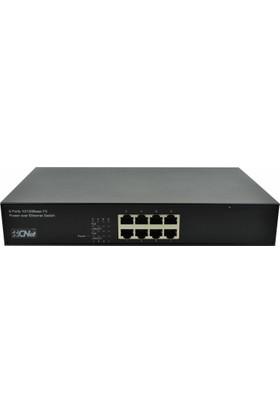 Cnet 8 Port 10-100 Poe+-Pse Switch