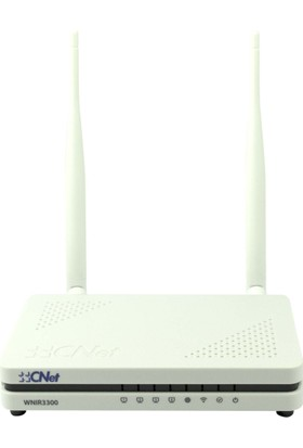Cnet 300Mbps 4 Portlu 2 X 5Dbi Değiştirebilir Antenli Ap - Router - Repeater