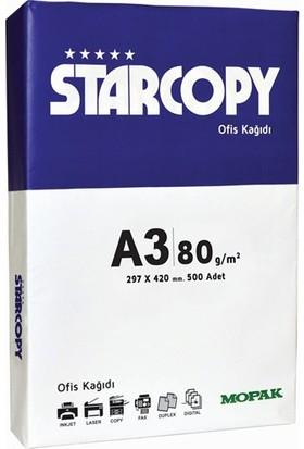 StarCopy A3 80 Gr/m² Fotokopi Kağıdı (5'li Paket / Koli)