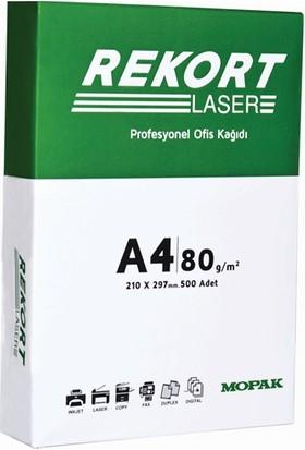 Rekort A4 80 Gr/m² Fotokopi Kağıdı (5'li Paket / Koli)