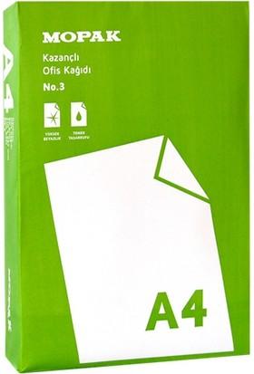 Mopak Kazançlı Ofis A4 80 Gr/m² Fotokopi Kağıdı (5'li Paket / Koli)