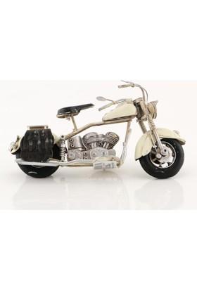 Mnk Vintage Chopper Metal Motosiklet 1304A-5692 El Yapımı Komple Metal