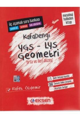 Eksen Yayıncılık Kafadengi Ygs-Lys Geometri Soru Bankası-Orta Ve İleri Düzey - Rafet Özdemir