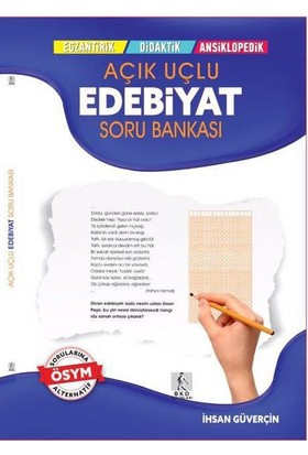 Bkd Yayınları Lys Edebiyat Açık Uçlu Çözümlü Soru Bankası