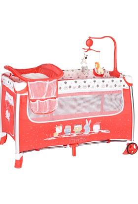Sunny Baby 620 Tiamo Oyun Parkı Kırmızı