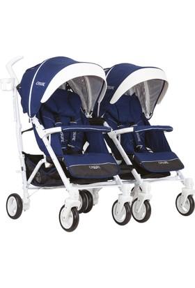 Casual Vista Trona İkiz Travel Sistem Bebek Arabası Mavi