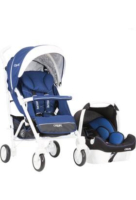 Casual Vista Trona Travel Sistem Bebek Arabası / Mavi