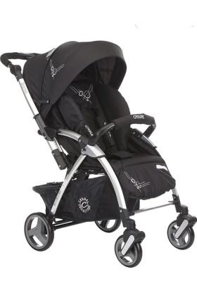 Casual Sonic Çift Yönlü Bebek Arabası Siyah
