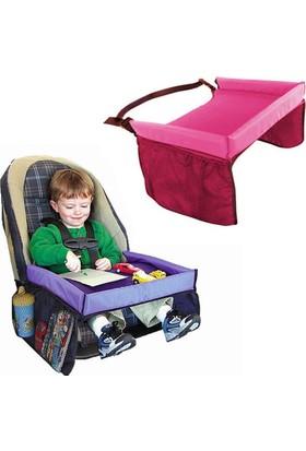 Vipfoni Pratik Katlanabilir Çocuk Masası (PEMBE)