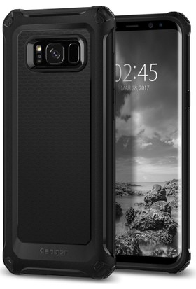 Spigen Samsung Galaxy S8 Kılıf Rugged Armor Extra Black - 565CS21319
