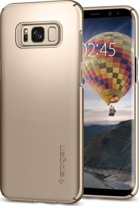 Spigen Samsung Galaxy S8 Kılıf Thin Fit Gold Maple - 565CS21622