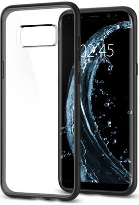 Spigen Samsung Galaxy S8 Kılıf Ultra Hybrid Matte Black - 565CS21628
