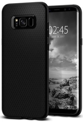 Spigen Samsung Galaxy S8 Plus Kılıf Liquid Air Black - 571CS21663