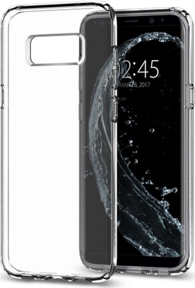 Spigen Samsung Galaxy S8 Plus Kılıf Liquid Crystal Crystal Clear - 571CS21664