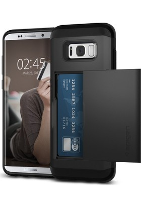Spigen Samsung Galaxy S8 Plus Kılıf Slim Armor CS Black - 571CS21672