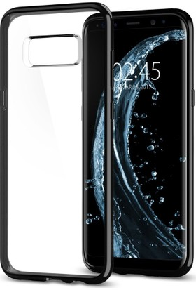 Spigen Samsung Galaxy S8 Plus Kılıf Ultra Hybrid Jet Black - 571CS21682