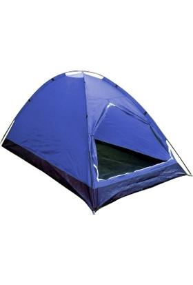 Gadahomeyüksek Koyu Mavi Dome Çadır (240*210*180 Cm)