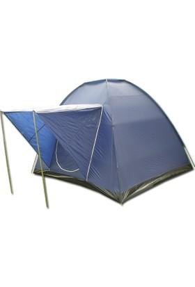 Gadahomeyüksek Koyumavi Dome Çadır+Balkonlu (240*210*180)