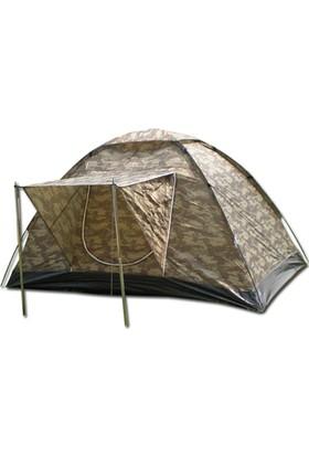 Gadahome Extreme Dijital Kamuflaj Dome Çadır+Balkolu