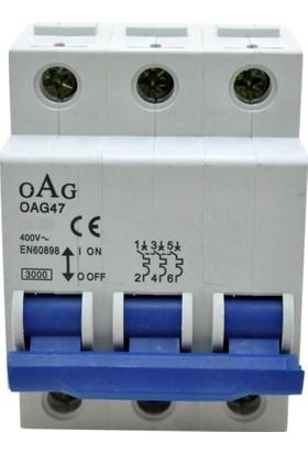 Gadahome Oag 100A (3X100A) C/3Ka Grup W Otomat