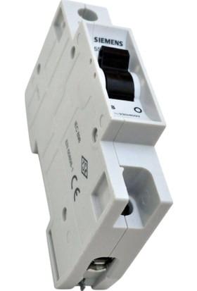 Gadahome Sıemens 40A (1X40A) B/3Ka Tekli W Otomat