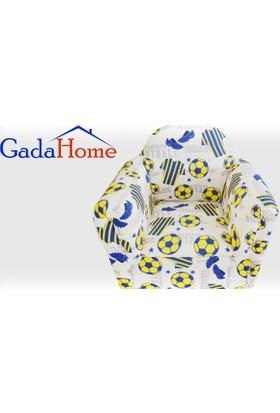 Gadahome Sarı Lacivert Çocuk Koltuğu (Bebek Koltuğu)